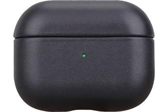 Accessoires audio Onearz Mobile Gear Etui en cuir véritable noir pour AirPods Pro