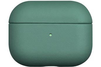 Accessoires audio Onearz Mobile Gear Etui en cuir véritable vert pour AirPods Pro