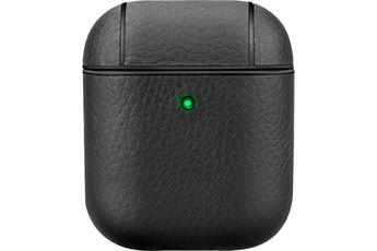 Accessoires audio Onearz Mobile Gear Etui de protection look cuir pour AirPods 1 & 2 noir