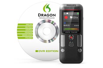 Dictaphone numérique DVT2700/00 VOICE TRACER Philips