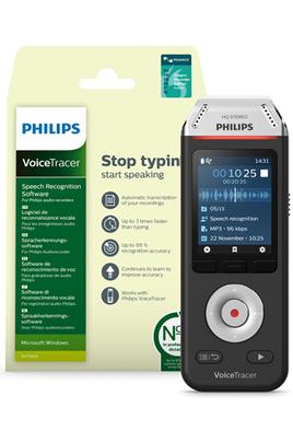 VoiceTracer numérique 2810 Philips avec DNS
