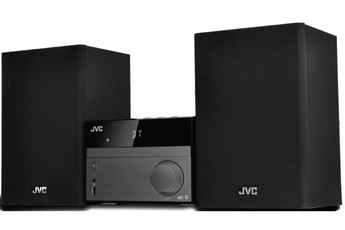 Micro-chaîne avec lecteur CD compatible MP3 Port USB pour lecture MP3 Fonction Bluetooth Radio DAB+/FM