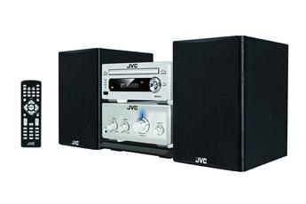 Micro-chaîne Hi-Fi avec lecteur CD compatible MP3 Port USB pour lecture MP3 - Bluetooth Radio FM - Compatible avec CD/CD-R/RW/MP3 Affichage LED
