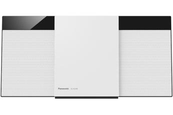 Micro chaîne avec lecteur CD Connexion Bluetooth Radio FM RDS 30 présélections - Port USB Fixation murale