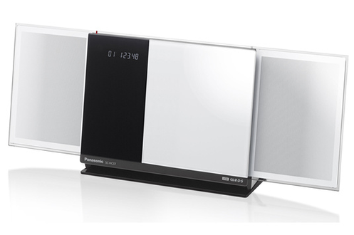 Chaîne micro Panasonic SC HC37 EF W BLANC (3602940)