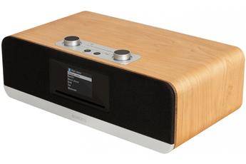 Chaîne micro Bluetooth - Lecteur CD/MP3/WMA Compatible Deezer, Spotify, Amzon prime music Egaliseur 6 positions Radio DAB+/DAB/FM