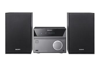 Lecteur CD et DVD 50 Watts de puissance Musique sans fil grâce au Bluetooth et au NFC Tuner RDS 20 présélections