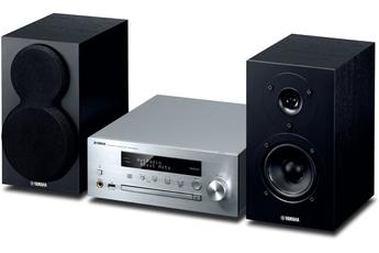 Système Hifi : lecteur CD, amplificateur intégré et enceintes Amplificateur numérique 2 x 22 Watts Bluetooth - Technologie de contrôle des vibrations Compatible système multiroom Yamaha MusicCast