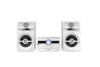 Mini chaîne avec lecteur CD Puissance totale 300 Watts RMS Technologie Bluetooth Tuner FM 30 présélections - Port USB et entrée auxiliaire