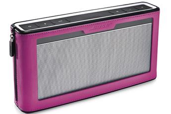Accessoire pour dock et enceinte etui soundlink mobile III rose Bose