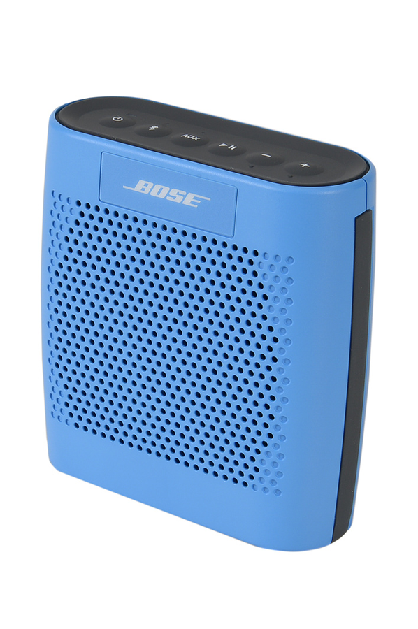 Enceinte Bluetooth  sans fil Bose SOUNDLINK COLOUR BLUE  ~ Enceinte Bluetooth Bois