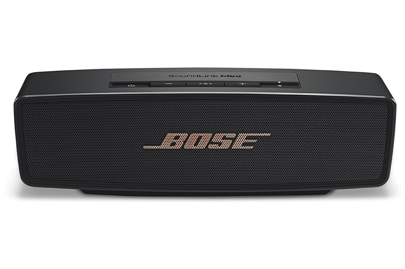 enceinte bluetooth sans fil bose soundlink mini ii black. Black Bedroom Furniture Sets. Home Design Ideas