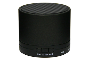 Enceinte bluetooth / sans fil MINI DRUM NOIR Dcybel