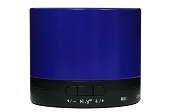 Enceinte bluetooth / sans fil MINI DRUM BLEU Dcybel