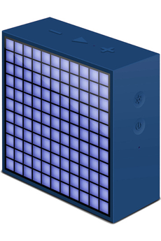 Enceinte Bluetooth / sans fil TIMEBOX MINI BLEU Divoom