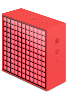 Enceinte Bluetooth / sans fil TIMEBOX MINI ROUGE Divoom