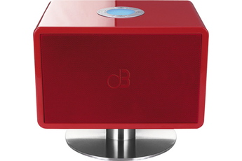 Enceinte Bluetooth / sans fil MINI PIANO ROUGE Dynabass