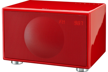 Enceinte bluetooth / sans fil M WIRELESS ROUGE Geneva