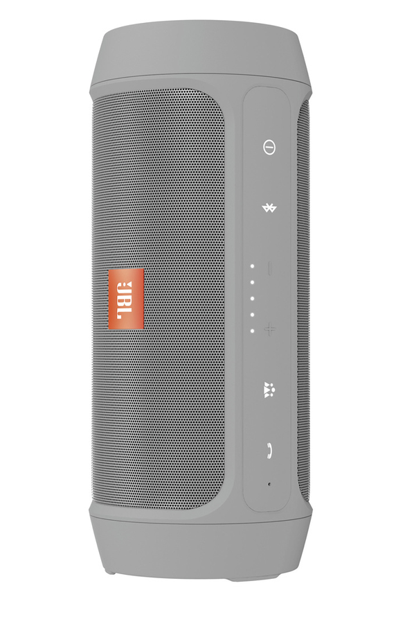 enceinte bluetooth sans fil jbl charge 2 gris 4135598. Black Bedroom Furniture Sets. Home Design Ideas