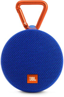 Enceinte nomade Bluetooth 4.2 - Puissance 3 Watts Autonomie jusqu'à 8 heures Fonction kit mains libres - Câble audio intégré 3,5 mm Mousqueton robuste intégré - Résistante aux éclaboussures (norme IPX7)