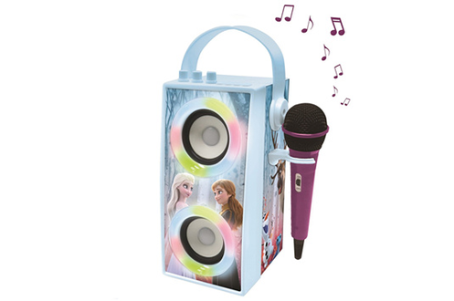 Enceinte Tendance Bluetooth® portable avec micro et effets lumineux La Rein