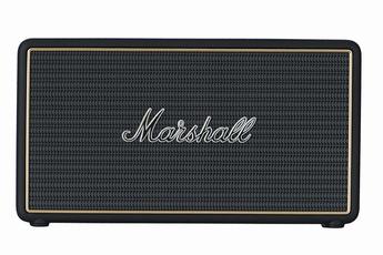 image son enceinte nomade marshall stockwell noir livraison offerte code livpremium. Black Bedroom Furniture Sets. Home Design Ideas
