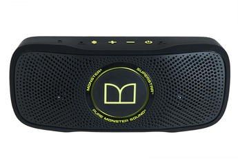 Enceinte Bluetooth / sans fil SUPERSTAR BACKFLOAT NOIR/VERT Monster