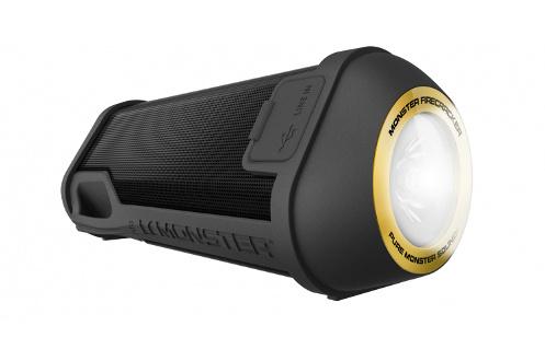 Enceinte nomade Bluetooth - Connectivité NFC Autonomie jusqu'à 25 heures Photolite: Lampe Flash LED avec 7 heures d'autonomie IPX5 : résistante aux éclaboussures - Fonction kit mains libres