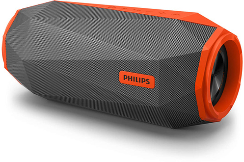 enceinte bluetooth sans fil philips sb500m orange darty. Black Bedroom Furniture Sets. Home Design Ideas