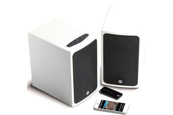 Enceinte bluetooth / sans fil BT3 BLANC LAQUE Q Acoustics