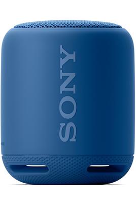 Enceinte nomade Bluetooth/NFC - Autonomie 16 heures Fonction kit mains-libres - Appairage de 2 enceintes Fonction Extra Bass - Résistante aux éclaboussures Entrée auxiliaire 3,5 mm - Accroche en silicone fournie