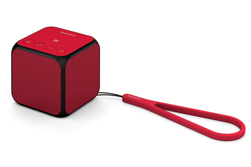dock enceintes rouges rouge. Black Bedroom Furniture Sets. Home Design Ideas