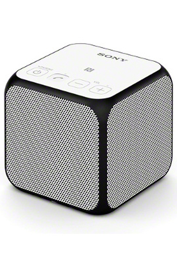 enceinte bluetooth sans fil sony srs x11 blanc srs x11. Black Bedroom Furniture Sets. Home Design Ideas