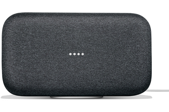 Enceinte intelligente Google Home Max Charbon