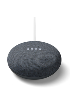 Enceinte intelligente Google Nest Mini Charbon
