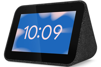 Enceinte intelligente Lenovo Smart clock noir