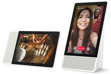 Enceinte intelligente LENOVO SMART DISPLAY 10""