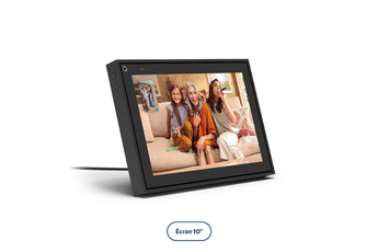"Enceinte intelligente Portal From Facebook APPELS VIDEO INTELLIGENTS PORTAL 10"" NOIR"