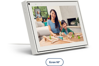 "Enceinte intelligente Portal From Facebook APPELS VIDEO INTELLIGENTS PORTAL 10"" BLANC"
