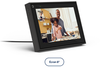 "Enceinte intelligente Portal From Facebook APPELS VIDEO INTELLIGENTS PORTAL 8"" NOIR"
