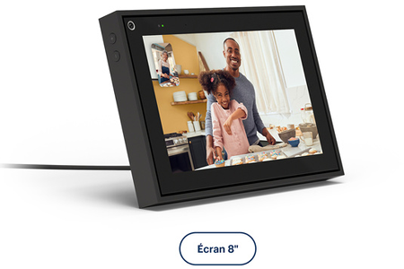 Enceinte intelligente PORTAL FROM FACEBOOK APPELS VIDEO INTELLIGENTS PORTAL 8'' NOIR
