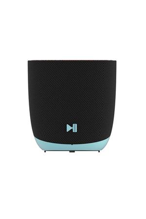 mini enceinte filaire dcybel halo blue darty. Black Bedroom Furniture Sets. Home Design Ideas