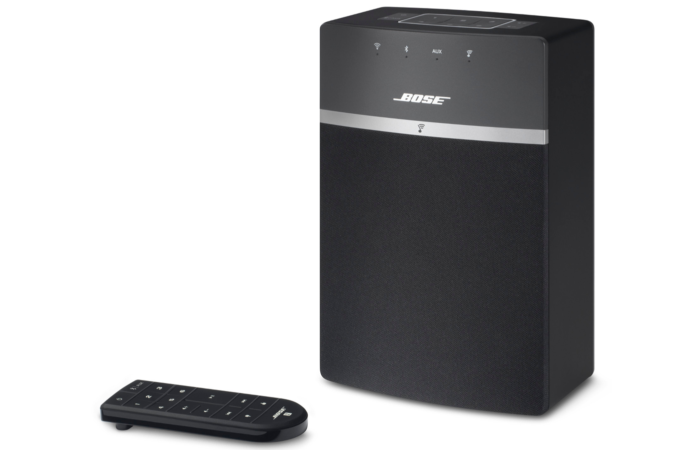 enceinte multiroom bose soundtouch 10 black 4142616 darty. Black Bedroom Furniture Sets. Home Design Ideas