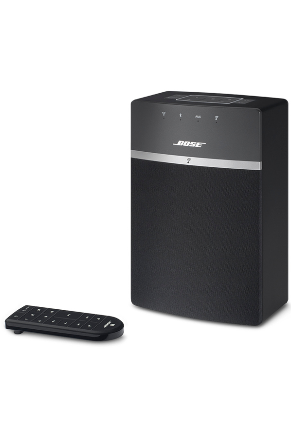 enceinte multiroom bose soundtouch 10 black 4142616. Black Bedroom Furniture Sets. Home Design Ideas