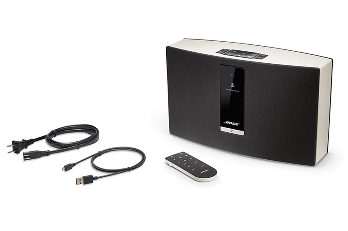 enceinte multiroom bose soundtouch 20 ii white 4046366 darty. Black Bedroom Furniture Sets. Home Design Ideas