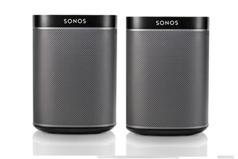 Enceinte multiroom PACK DUO PLAY:1 NOIR Sonos