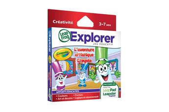 Jeux et accessoires pour tablette enfant JEU LEAPPAD CRAYOLA Leapfrog