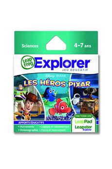 Jeux et accessoires pour tablette enfant JEU LES HÉROS PIXAR Leapfrog