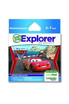 Jeux et accessoires pour tablette enfant JEU LEAPPAD CARS 2 Leapfrog