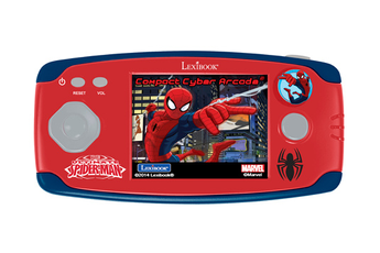 Jeux et accessoires pour tablette enfant Lexibook Compact Cyber Arcade Spiderman